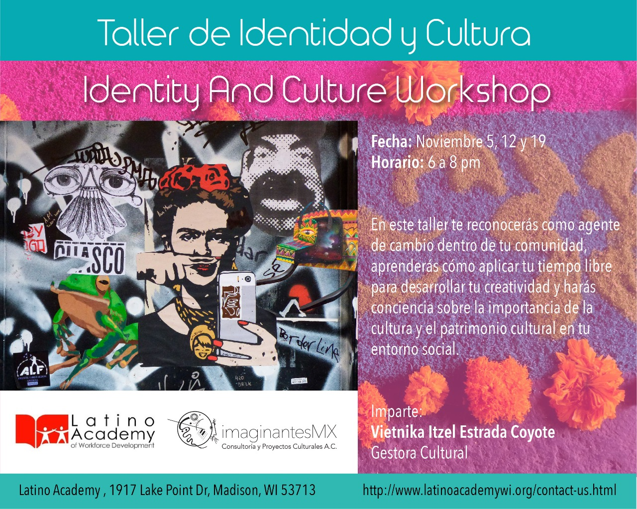 Taller de Identidad y Cultura – Identity And Culture Workshop
