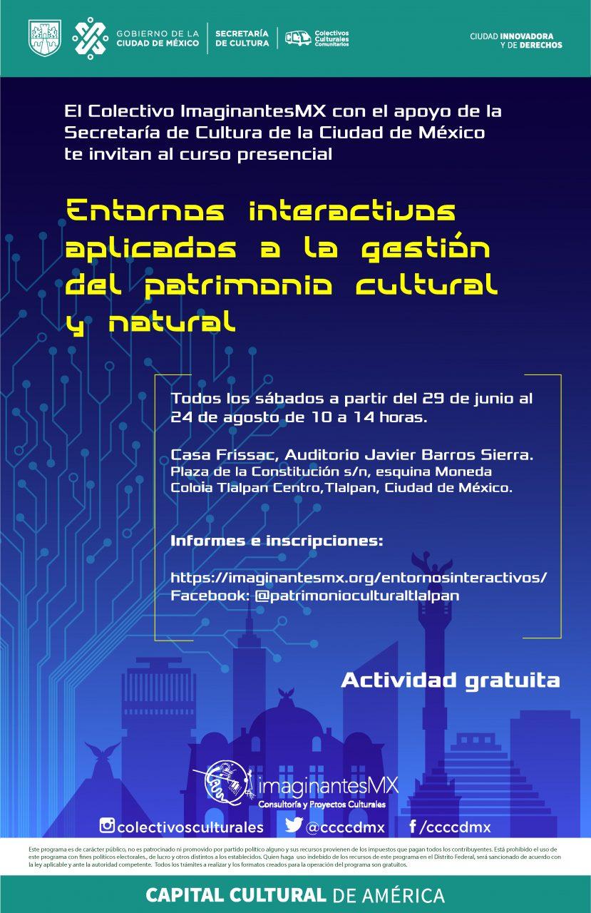 Entornos Interactivos para la Gestión del Patrimonio Cultural y Natural
